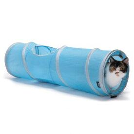【D-culture】 キャット トンネル スパイラル 【猫 おもちゃ】ねこ ネコ オモチャ