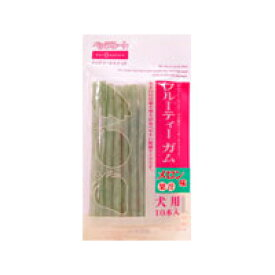 【ペッツルート】 フルーティーガム メロン味 10本入