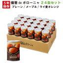 非常食 5年保存食 備蓄deボローニャ 24缶セット/箱 (プレーン/メープル/ライ麦オレンジ) 1缶/2個入 ブリオッシュパン …
