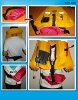 生活夾克皮革 (自動充氣) 男子和婦女和 CE 安全標準得到標準 (救生衣生活賦予一個尺寸適合所有捕魚釣魚海灘浮潛獨木舟船救生事故洪水) KA