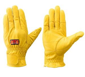 トンボレックス C-409Y 牛革製手袋 (消防/操法/消防団) SH