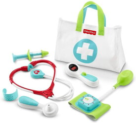 フィッシャープライス ドクターバッグ メディカル キット セット お医者さんごっこ Fisher-Price Medical Kit with Doctor Health Bag Playset DVH14 輸入品