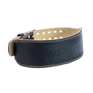 """Harbinger ハービンジャー リフティングベルト レザーベルト ウエイトトレーニング ベルト 背中幅10.16cm 4"""" Padded Leather Belt 輸入品"""