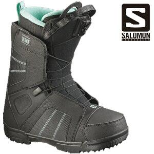 【アウトレット】SALOMON SCARLET BLACK MINT 2016-17 スノーボード ブーツ サロモン スカーレット ブラックミント