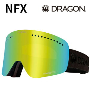 DRAGON NFX True Black Ll J.Gold Ion 2021-22 GOGGLES ゴーグル スキー スノーボード ドラゴン 003 2022 予約商品