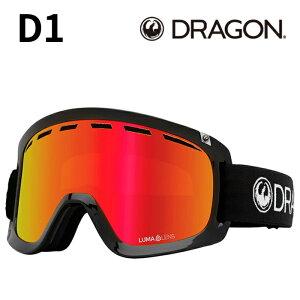 DRAGON D1 Black 2 Ll J.Red Ion 2021-22 GOGGLES ゴーグル スキー スノーボード ドラゴン A06 2022 予約商品