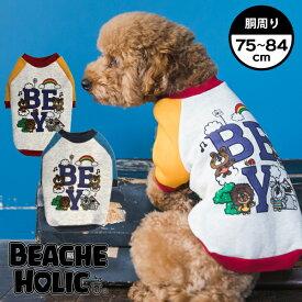 【半額以下☆70%OFF】【2019年秋冬新作】【BEACHE HOLIC】ビーチェホリックベー君ロゴトレーナー大型犬サイズ