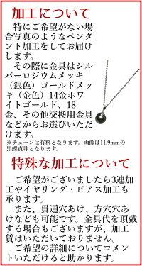パールファクトリータヒチ黒蝶真珠ペンダントネックレス(9mmアップ/グリーン〜ブルー/オーバル〜ドロップ形)(bp8080)