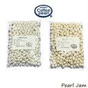 【ネコポス便送料無料】コットンパール 両穴 8mm 大袋(300ヶ入) 正規品 日本製【PearlJam】