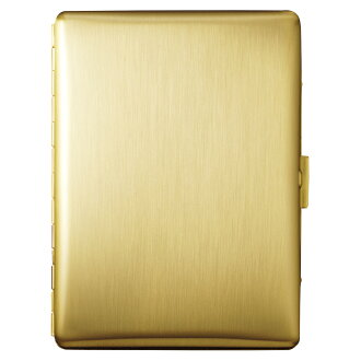 PEARL gold satin Cosmos cigarette case-Japan