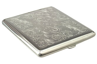 Product made in STOLL G9(85mm) arabesque cigarette case stall Germany