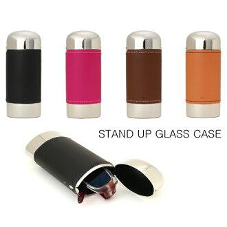針脚皮革枱燈提高玻璃杯情况眼鏡眼鏡