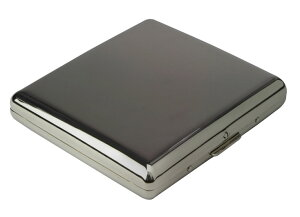 PEARL カジュアルメタル20本(85mm) ブラックニッケル シガレットケース 1-95307-51
