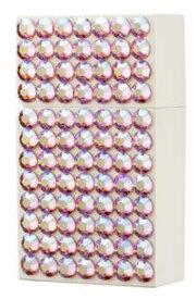 ハードエッジ グリッツ HardEdge Glitz WhitexAB Pink ホワイト×ABピンク 日本製 2-21069-60