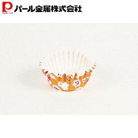 レッツハロウィーン 紙製カップケーキ焼型 オレンジ(7枚入) パール金属