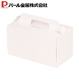 パール金属 ウィズハート ロールケーキ ボックス 22cm ホワイト 日本製 D-2197
