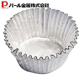 EEスイーツ エンボス加工アルミ箔カップケーキ焼型 S (20枚入)(D-4820) パール金属