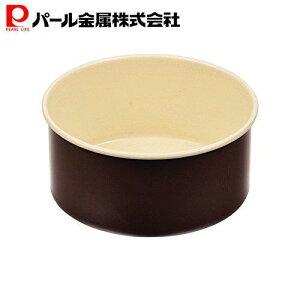 ラフィネ ふっ素加工 デコレーション ケーキ 焼型 12cm 底取れ式 【日本製】 D-6101 パール金属