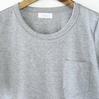 【日本製】【授乳服マタニティトップス】マタニティママから授乳ママまで!Aラインのフレアなシルエットが可愛い♪授乳口つきクルーネックTシャツ