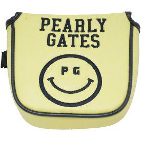 パーリーゲイツ PEARLY GATES 合皮ニコ2ボールパターカバー[ゴルフ ヘッドカバー パター PT]