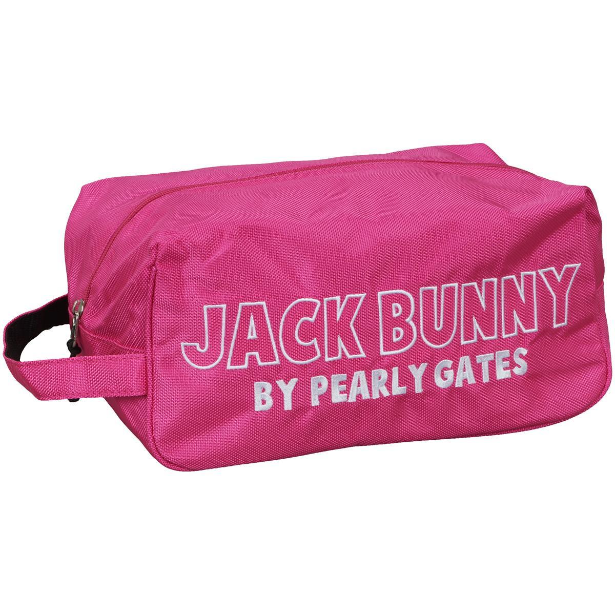 ジャックバニー バイ パーリーゲイツ Jack Bunny!! by PEARLY GATES シューズケース 262-7984105[ゴルフ用品 GOLF GDO シューズバッグ ゴルフシューズバッグ メンズ 男性用 靴入れ シューズ入れ スポーツ シューズバック スポーツ用品]