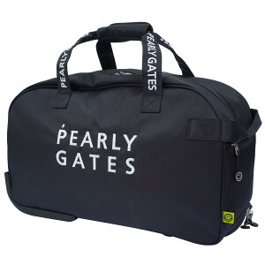 【2021年新作】 パーリーゲイツ PEARLY GATES キャリー付きボストンバッグメンズ レディース ユニセックス ゴルフ ゴルフ用品 ロッカーバッグ 旅行