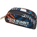 ジャックバニー バイ パーリーゲイツ Jack Bunny!! by PEARLY GATES クレイジーボーダーポーチ