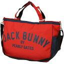 ジャックバニー バイ パーリーゲイツ Jack Bunny!! by PEARLY GATES トートバッグ 262-6981100[ゴルフ用品 ゴルフ トート...