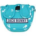 ジャックバニー バイ パーリーゲイツ Jack Bunny!! by PEARLY GATES うさぎ総柄シリーズ パターカバー[ゴルフ用品 G…