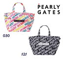 【NEW】PEARLY GATES パーリーゲイツ落書き総柄 BIGトートバッグ シューズIN!ロッカーバッグ<落書きシリーズ>053-02…