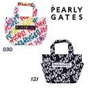 【NEW】PEARLY GATES パーリーゲイツ落書き総柄 トート型カートバッグ<落書きシリーズ> 053-0281103/20D