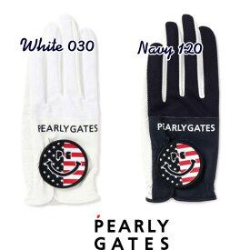 【NEW】PEARLY GATES パーリーゲイツ星条旗モチーフ 左手用 片手グローブ053-0285009/20C