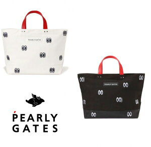 【NEW】PEARLY GATES パーリーゲイツGOOD JOB,EYES!! BIGトートバッグボストンバッグ 053-0281105/20D