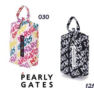 【NEW】PEARLY GATES パーリーゲイツ落書き総柄 シューズケース<落書きシリーズ>053-0284118/20D