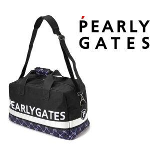 【NEW】PEARLY GATES パーリーゲイツアーガイル柄 ボストンバッグ ショルダー付053-1281900/21C