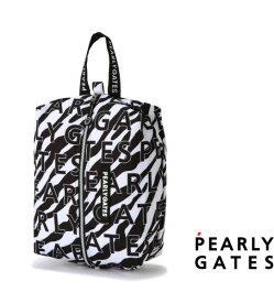 【NEW】PEARLY GATES パーリーゲイツJUST LIKE ZEBRA!ゼブラ柄シューズケース 053-1284026/21D