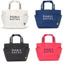 【NEW】PEARLY GATES パーリーゲイツNEW BASIC ITEMS DEBUT!2段ロゴ 定番系トート型カートバッグ053-0981202/20AF