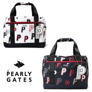 """【NEW】PEARLY GATES パーリーゲイツ""""P P P!!""""ランダム P! P! ボストンバッグチャーム付き 053-0281904/20C"""