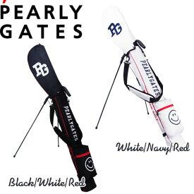 【再入荷】PEARLY GATES SELF STAND SERIESパーリーゲイツ・クラブスマイリーセルフスタンドバッグ 軽量・ショルダー&フード付き【641-1984106】【CLUBSMILY】