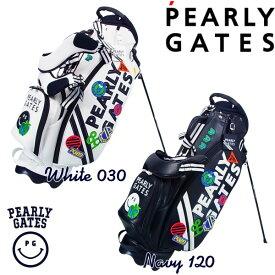 【NEW】PEARLY GATES WAPPEN SMILYパーリーゲイツ・ワッペンスマイリースタンドバッグ発売!641-1980101 【WAPPENSMILY】【WEB限定モデル】