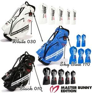 【2021ゴルフ応援企画】【お得な6点セット】MASTER BUNNY EDITION STAND MODELマスターバニー・リップエナメルコーティングスタンドバッグ+ヘッドカバー(1W+FW×2+UT×2)の6点セット!758-0280951【RIP-ENAMEL】
