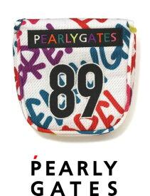【NEW】PEARLY GATES パーリーゲイツイイネ!落書きシリーズ パターカバーツーボール・マレットタイプ 053-0284115/20D