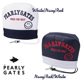 【NEW】PERLY GATES CLUB SMILYパーリーゲイツ・クラブスマイリーアイアンカバー発売!641-1984133【CLUBSMILY21】WEB限定モデル