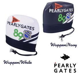 【NEW】PEARLY GATES WAPPEN SMILYパーリーゲイツ・ワッペンスマイリーアイアンカバー発売!641-1984113 【WAPPENSMILY】【WEB限定モデル】