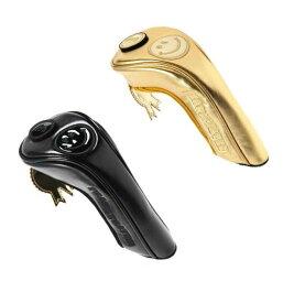 【NEW】PEARLY GATES 30TH CHAMPION SERIESパーリーゲイツ ブラック&ゴールド ヘッドカバーユーティリティー用 053-9284021/19D【30THCB】