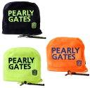 【NEW】【PEARLY GATES is COLORFUL & POP】パーリーゲイツカラフルPOPシリーズボアアイアンカバー PGロゴチャーム付0…