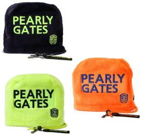 【NEW】【PEARLY GATES is COLORFUL & POP】パーリーゲイツカラフルPOPシリーズボアアイアンカバー PGロゴチャーム付053-9284122/19D【COLORFUL】