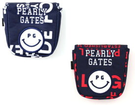 【NEW PRICE】【SMILY-GRAPHIC】PEARLYGATES パーリーゲイツグラフィックスマイリー パターカバーツーボール・マレットタイプ053-9284114/19D【GRAPHIC】【2020−GRAPHIC】