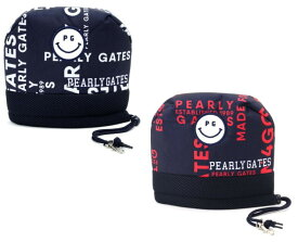 【NEW PRICE】【SMILY-GRAPHIC】PEARLYGATES パーリーゲイツグラフィックスマイリー アイアンカバー053-9284115/19D【GRAPHIC】【2020−GRAPHIC】