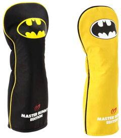 【NEW】MASTER BUNNY EDITION × BATMAN SPECIAL マスターバニー×バットマンシリーズ ヘッドカバードライバー用 キャットハンドモデル758-0184012/19D【BATMAN】